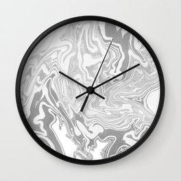 Smoky mirror Wall Clock