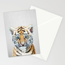 Baby Tiger - Colorful Stationery Cards