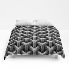 GS Geometric Abstrac 04A4A S6 Comforters