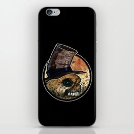 Skull in a Top Hat iPhone Skin