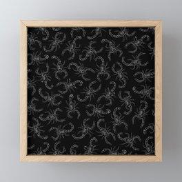 Scorpion Swarm II Framed Mini Art Print