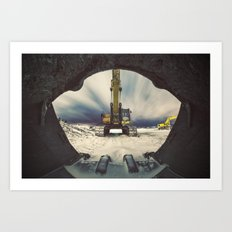 Mouth of the Machine Art Print