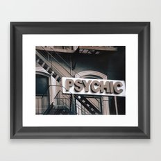 Psychic Revisited Framed Art Print