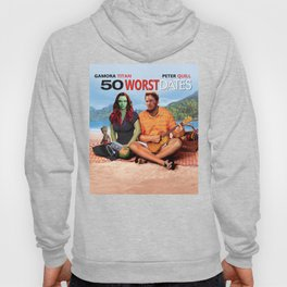 50 WORST Dates - Avenger End Game Parody Design (50 first dates) Hoody