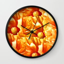 Just poppies Wall Clock