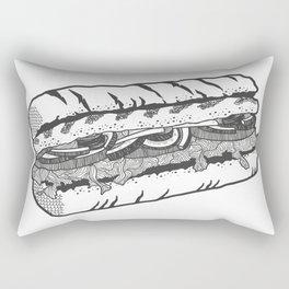 one veg for me, please. Rectangular Pillow