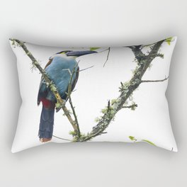 Tucan of the Andes Rectangular Pillow