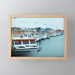 Fishing Pier PEI Framed Mini Art Print