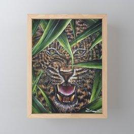 Peek a boo Framed Mini Art Print