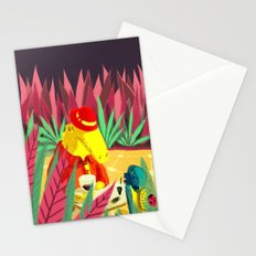 an encounter Stationery Cards