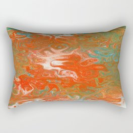 As Luck Would Have It, Abstract Art Rectangular Pillow