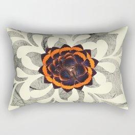 B&W Lace 1 Rectangular Pillow