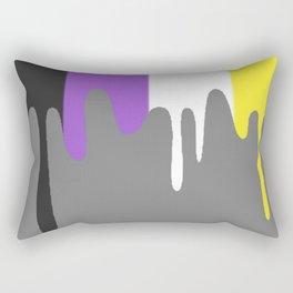 Non-binary Slime Rectangular Pillow