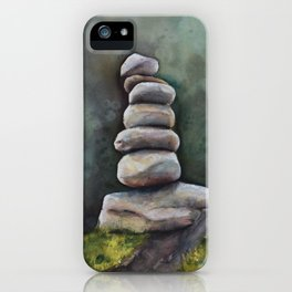 Cairns In A Clearing iPhone Case
