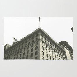 old building Rug