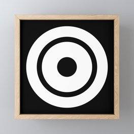 Bullseye Framed Mini Art Print