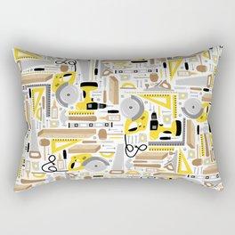 Measure Twice, Cut Once Rectangular Pillow