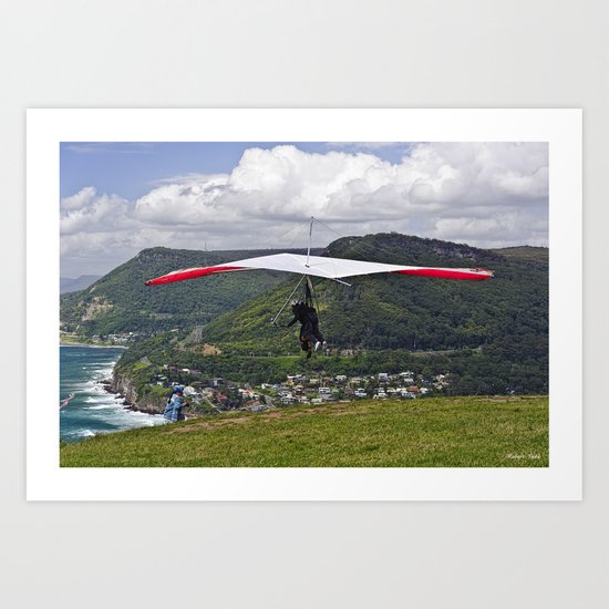 Flight for Two  Art Print
