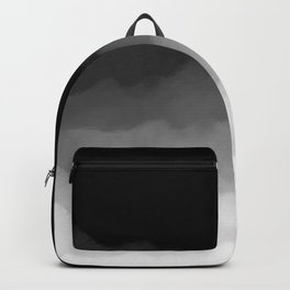 Watercolor Ombre (black/white) Backpack