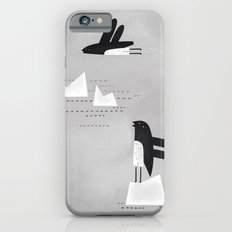is that penguin flying? Slim Case iPhone 6s