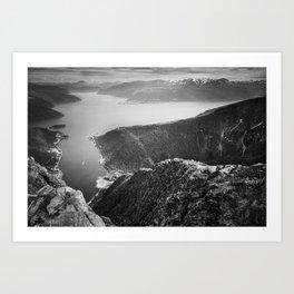1200 Meters Art Print
