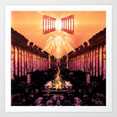 Temple of the Covenant Art Print