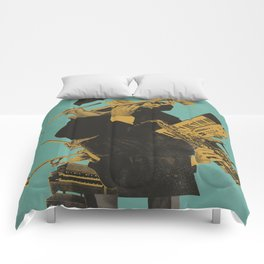 ABSTRACT JAZZ Comforters