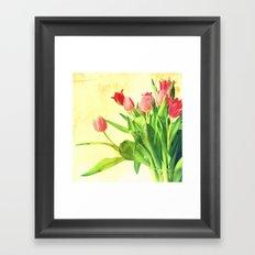 Tulips No. 2 Framed Art Print