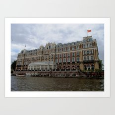 Amsterdam Hotel Art Print