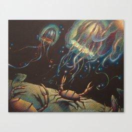 """Light Show"" Canvas Print"