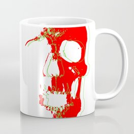 Skull - Red Coffee Mug