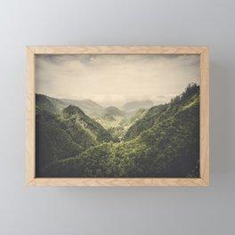 The Valley Framed Mini Art Print