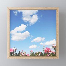COTTON SKIES Framed Mini Art Print