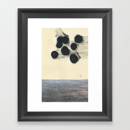 Pull Framed Art Print