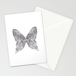 FLOWERS, FEATHERS & FLUTTERS Stationery Cards