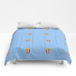Tiny baskets of french fries Comforters