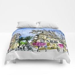 Plaça de la Virreina, Barcelona Comforters