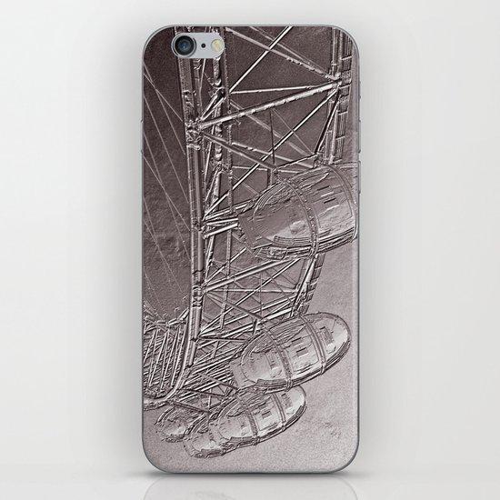 Embossed London Eye iPhone & iPod Skin