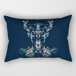 Space Viking Rectangular Pillow