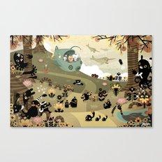 The Octonauts Sea of Shade Canvas Print