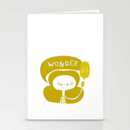 Wonder-ful Stationery Cards