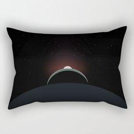 2001 Space Odyssey Sun, Earth, Moon Alignment Rectangular Pillow