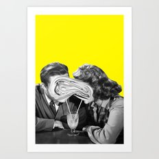 Clicking Art Print