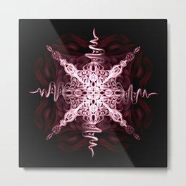 Snowflake Star Metal Print