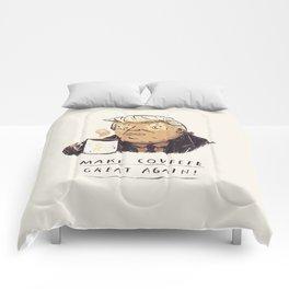 make covfefe great again! trump print Comforters