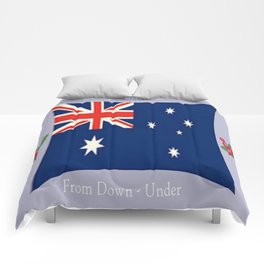 Merry Christmas from Down - Under Comforters