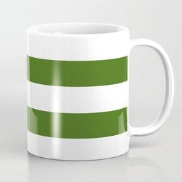 Simply Stripes in Jungle Green Coffee Mug