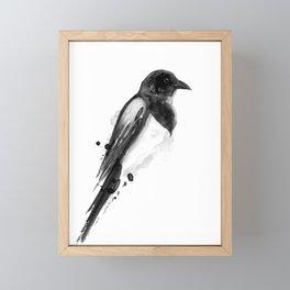 Birdy No. 4 Framed Mini Art Print