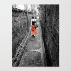 Damp Passage Canvas Print