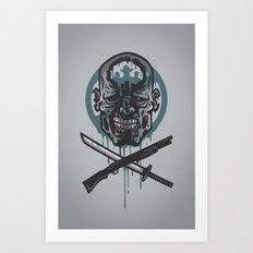 Dead Men Walking Art Print